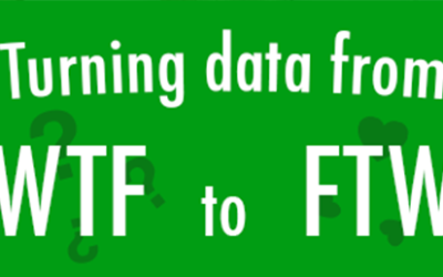Turning data from WTF to FTW