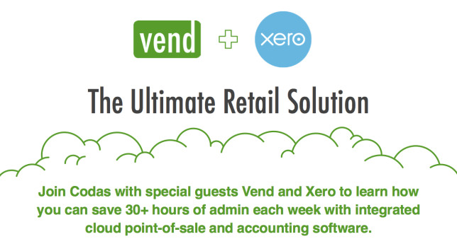 Vend & Xero at Codas with Apple