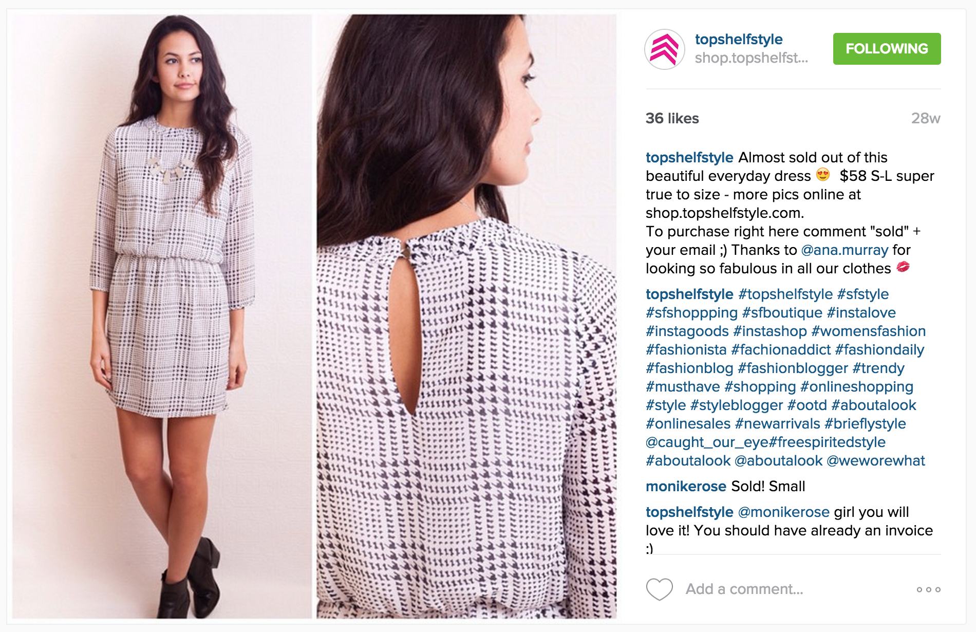 Types Of Posts That Do Extremely Well On Instagram Vend Retail Blog - Create custom invoices top 10 women's online clothing stores