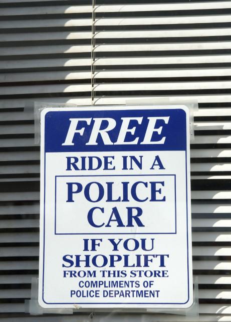 Shoplifters Beware