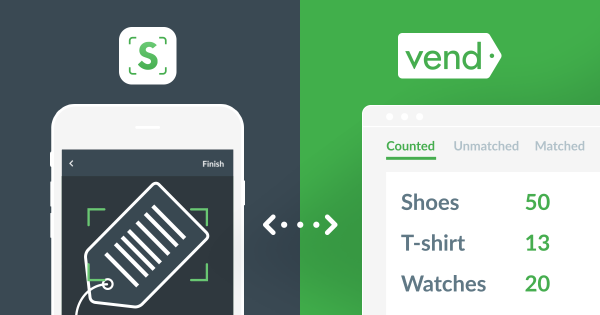 Introducing Scanner by Vend, for mobile inventory counting