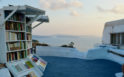 Books with a view on Santorini